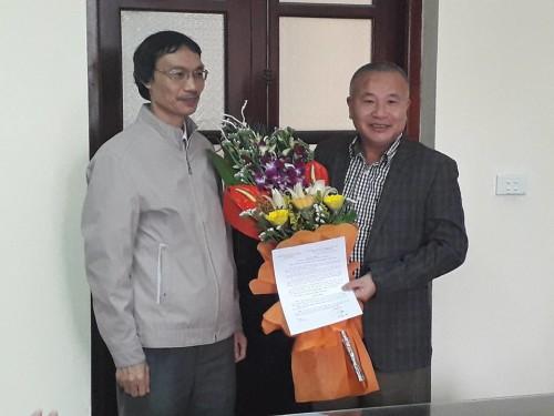 Bo nhiem lại Pham Quang Thu